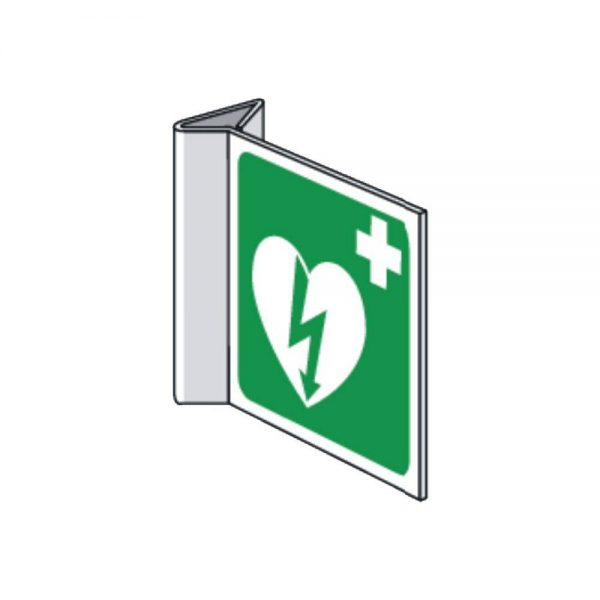AED pictogram haaks