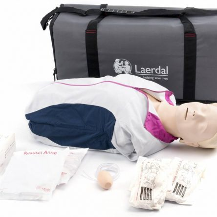 Laerdal Resusci Anne First Aid Torso with carrying bag