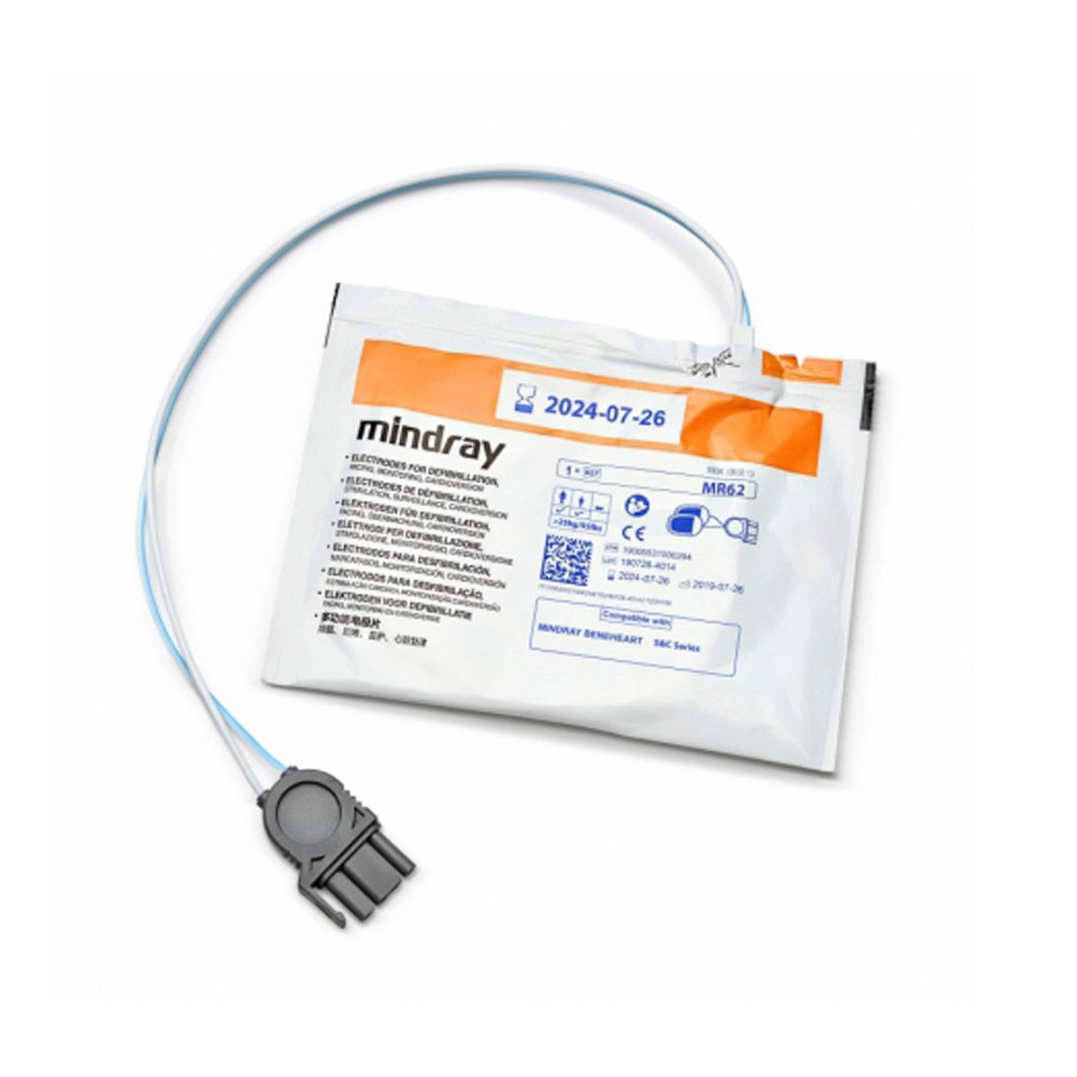 Mindray BeneHeart C1A & C2 AED electrodes